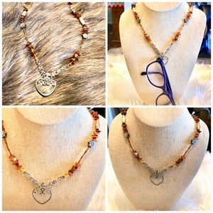 Jewelry - Necklace and Glasses holder